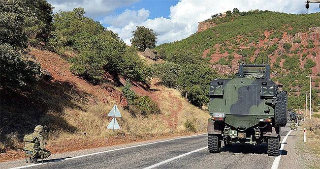 Erzurum'da çatışma: 2 asker şehit
