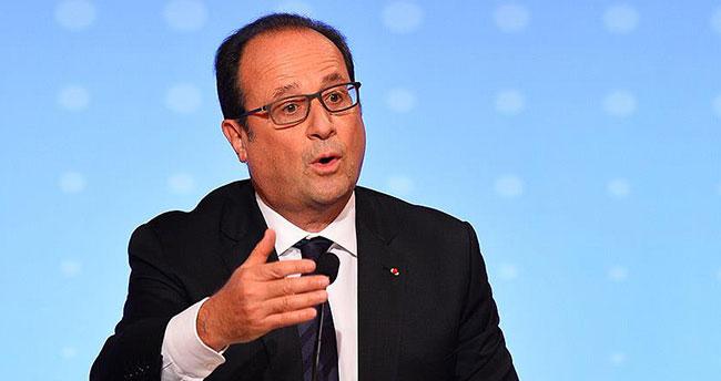 Fransa Cumhurbaşkanı Hollande: Filistin ile Kudüs'teki durum sakinleştirilmeli