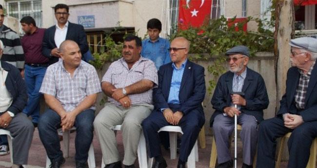 MHP Milletvekili Gönen Şehit Mevlidine Katıldı