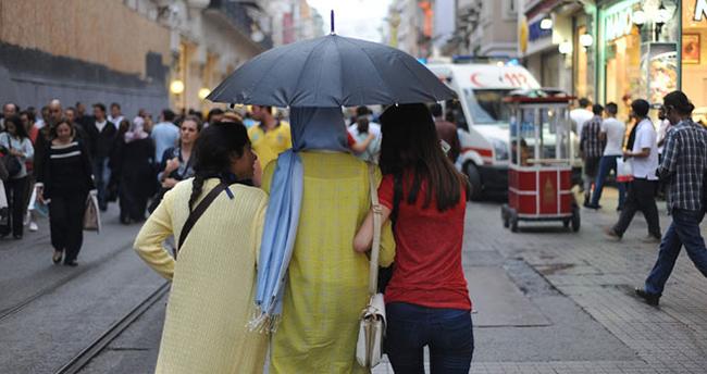 12 Ekim 2015 yurtta hava durumu