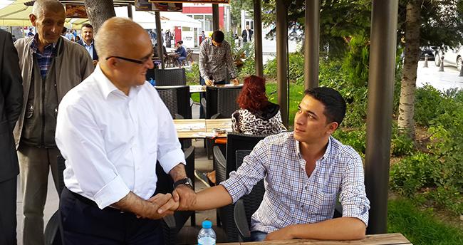 Sait Gönen, Gençlerden Oy İstedi