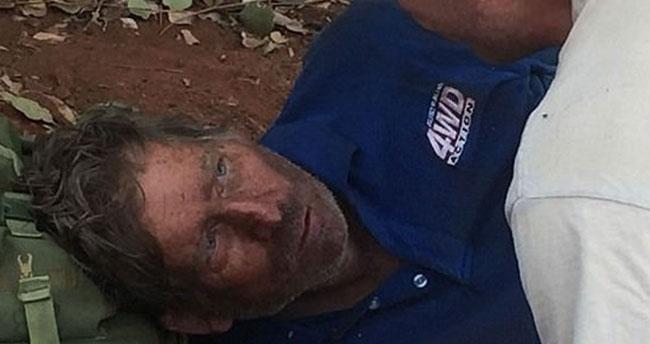Kayıp avcı karınca yiyerek hayatta kaldı
