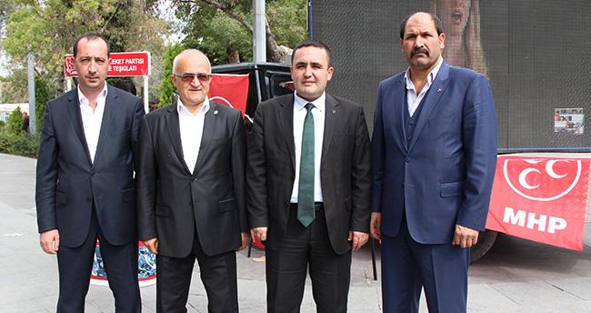 MHP'den Led Ekranlı Seçim Kampanyası