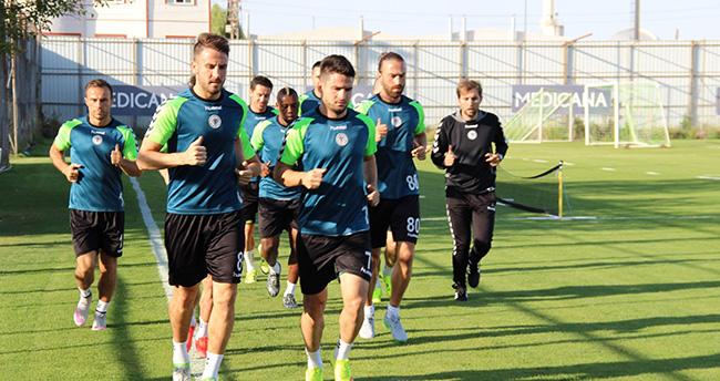 Torku Konyaspor'da Gaziantep Hazırlığı