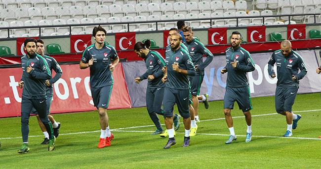 Türkiye, İzlanda maçına hazır