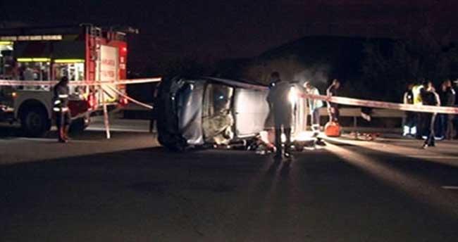 Başkent'te trafik kazası: 2 ölü, 5 yaralı