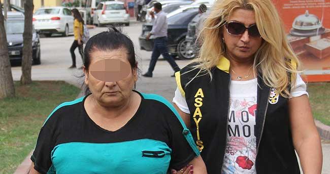Evinde 20 liraya fuhuş yaptıran kadın tutuklandı
