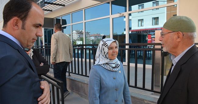 AK Partili Hüsnüye Erdoğan Selçuklu'da Destek İstedi