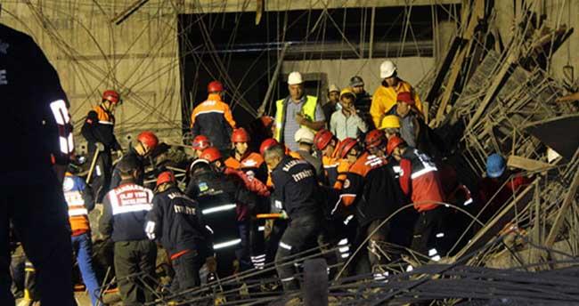 Enkazda kalan işçilere 9 saatte ulaşıldı