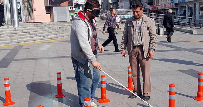 Kocaeli'de 'Beyaz Baston Güvenlik Günü' düzenlendi