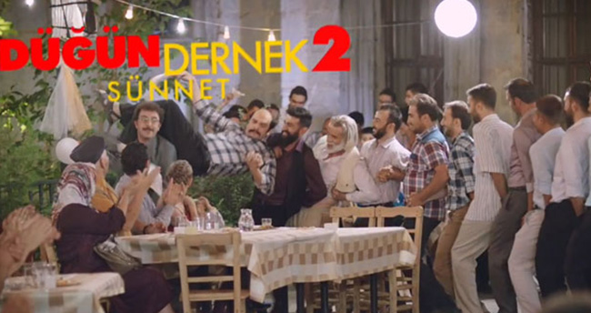 ´Düğün Dernek 2: Sünnet´ filminin fragmanı yayınlandı..