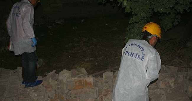 Konya'da yıkılan duvarın altında kalan kişi öldü