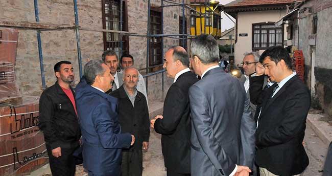 Vali Erol Akşehir'deki Sokak Sağlıklaştırma Çalışmalarını İnceledi
