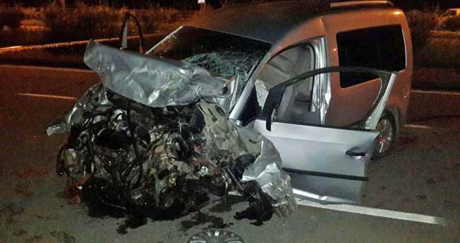 Rize'de trafik kazası: 2 ölü, 5 yaralı