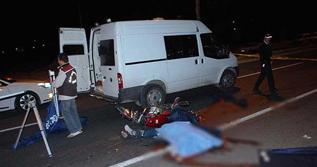 Adıyaman'da feci kaza: 1 ölü, 2 yaralı