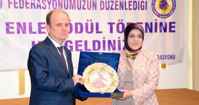Başkan Fatma Toru'ya Amatör Spor Hizmet Ödülü