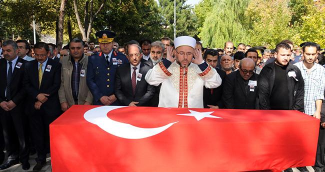 Şehit astsubay Onur Sönmez Kayseri'de toprağa verildi