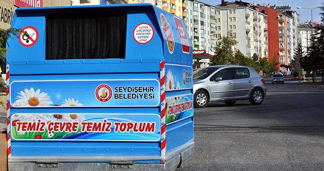 Seydişehir Belediyesi Çöp Konteynerlerini Yeniliyor