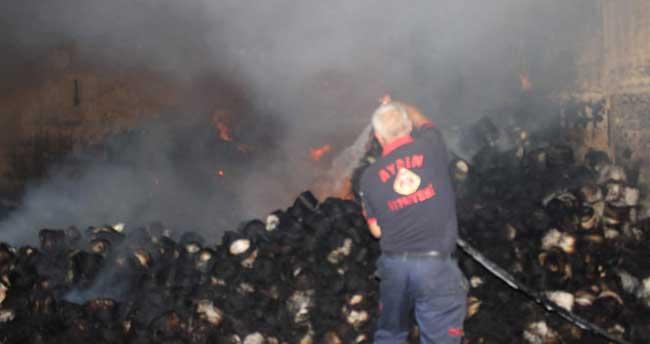 Umurlu OSB'de fabrika yangını