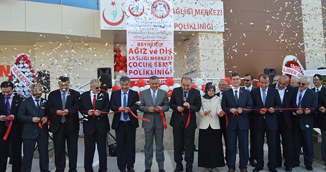 Konya'da çocuklara özel diş polikliniği