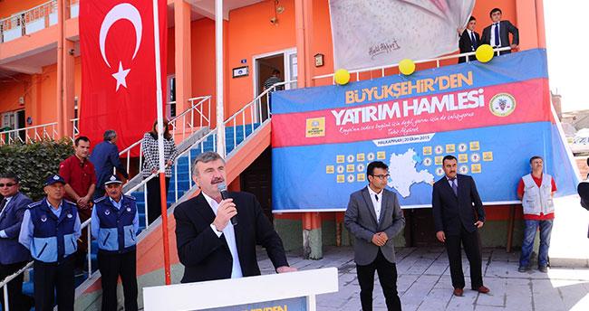 Halkapınar'da toplu açılış töreni