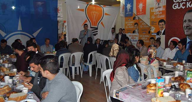 Akşehir AK Parti Gençlerle Buluştu