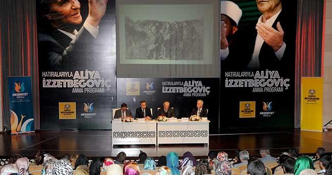 Aliya İzzetbegoviç Konya'da Anıldı