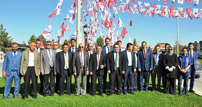 MHP Adayları Beyşehir'de