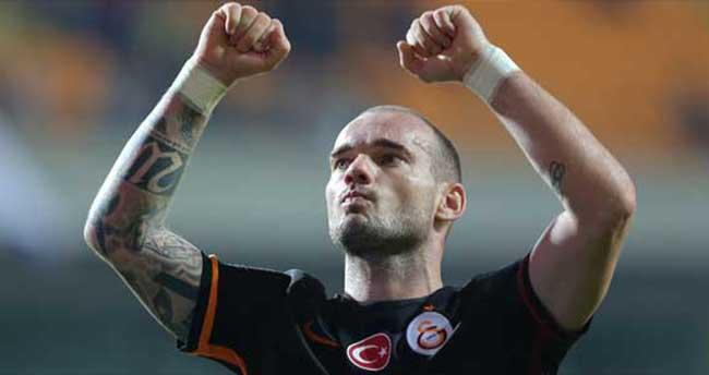Sneijder'den şaşırtan açıklama! Favorim…