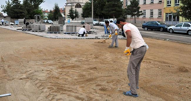Akşehir'de salı pazarının çehresi değişiyor