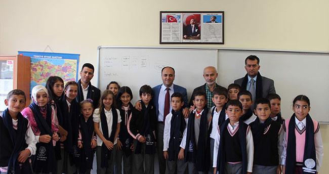 Başkan Özaltun öğrencilerle buluştu