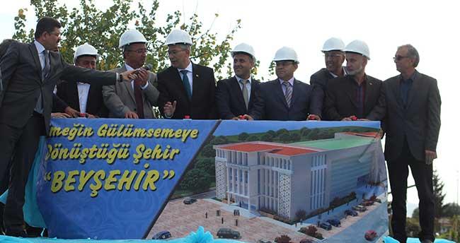 Beyşehir Kültür ve Yaşam Merkezi'nin temeli atıldı