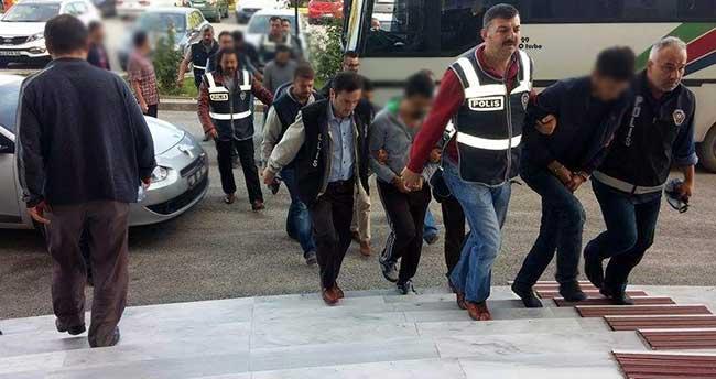 Ereğli'de Uyuşturucu Operasyonu: 9 gözaltı