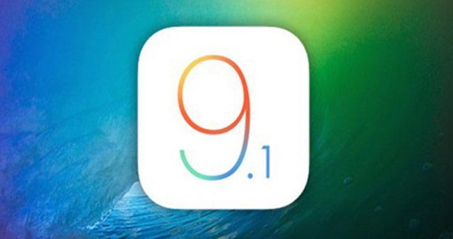 iOS 9.1 güncellemesi yayınlandı!