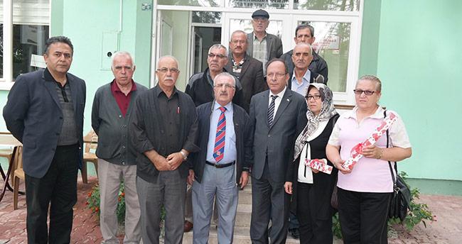 Oprukçu'dan Muharip Gaziler Derneği'ne Ziyaret