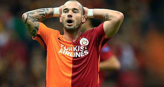 Sneijder'in işkencesi!
