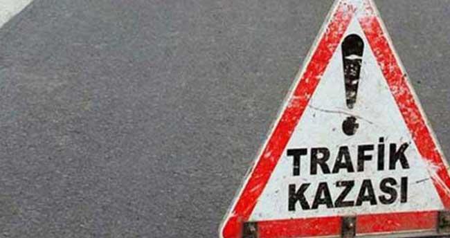 Konya'da motosiklet kazası: iki yaralı