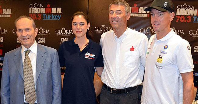 Antalya'da 'Ironman 70.3' heyecanı