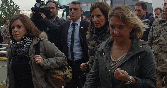 İspanya Başbakan Yardımcısının uçağı Çorlu'ya zorunlu iniş yaptı