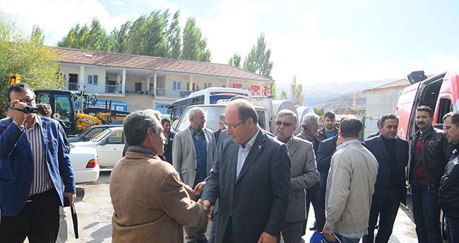 MHP Konya milletvekili adayı Oprukcu, Halkapınar'da