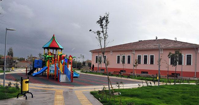 Akşehir'de engelsiz park hizmete giriyor