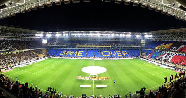Fenerbahçe taraftarından dev kareografi