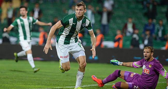 Necid atıyor Bursaspor kazanıyor