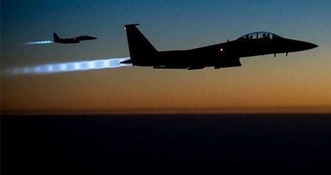 Türk savaş uçakları PYD'yi vurdu!