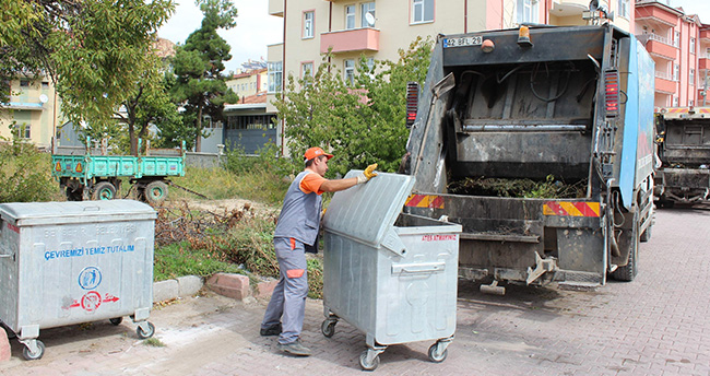 Beyşehir'de Yılda 35 Bin Ton Katı Atık Toplanıyor