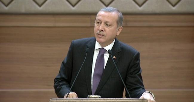Cumhurbaşkanı Erdoğan'dan bir ilk