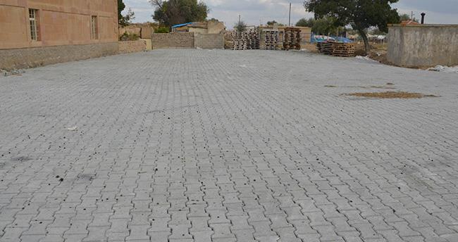Ereğli'de Köy Yolları Kilitli Taşla Kaplanıyor