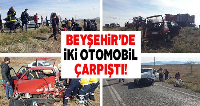 Beyşehir'de trafik kazası: 6 yaralı