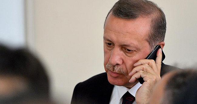 Erdoğan'dan HAK-PAR Genel Başkanı Demir'in eşine taziye telefonu