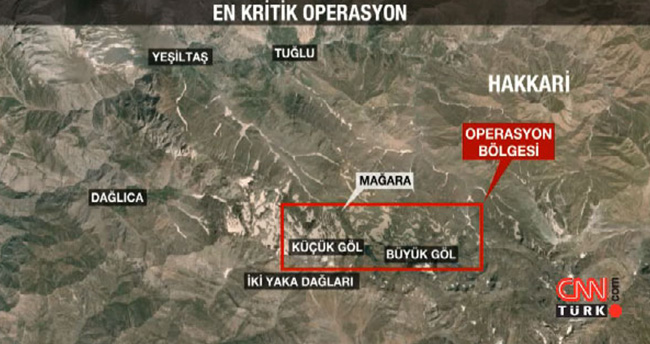 PKK'ya 6 bin askerle İkiyaka'da çok kritik operasyon
